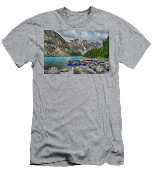 Moraine Lake Men's T-Shirt (Athletic Fit)