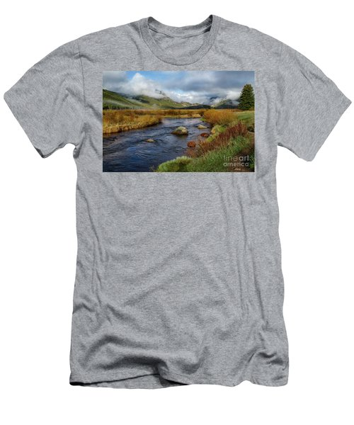 Moraine Park Morning - Rocky Mountain National Park, Colorado Men's T-Shirt (Athletic Fit)