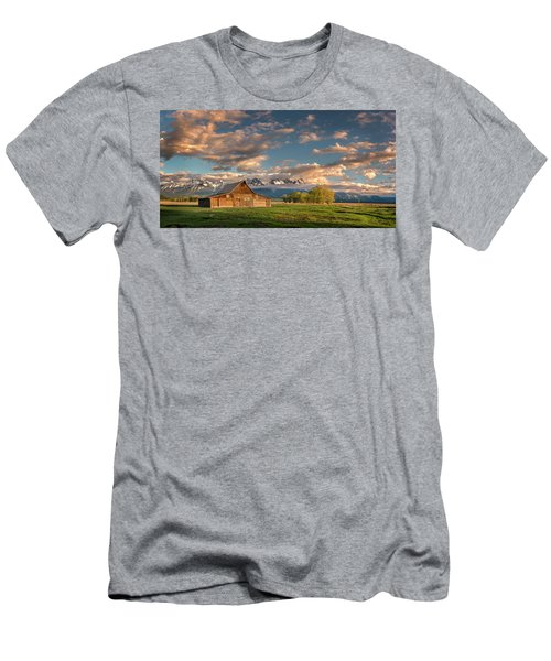 Mormon Row At Sunrise Men's T-Shirt (Athletic Fit)