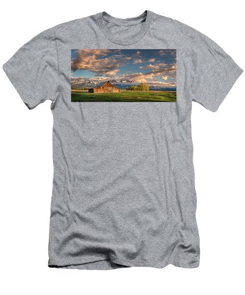 Mormon Row At Sunrise Men's T-Shirt (Athletic Fit)