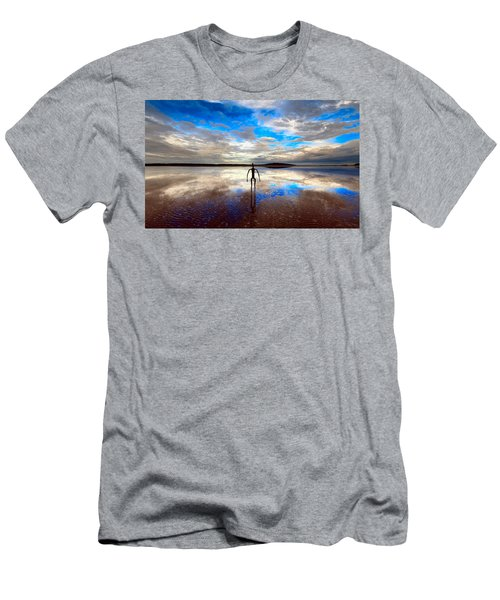 Morning Arrival At Lake Ballard Men's T-Shirt (Athletic Fit)