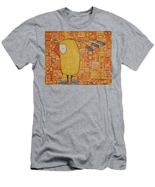 Morning Bird Men's T-Shirt (Athletic Fit)