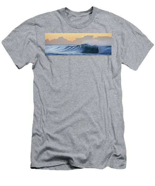 Men's T-Shirt (Slim Fit) featuring the photograph Morning Breaks by Az Jackson
