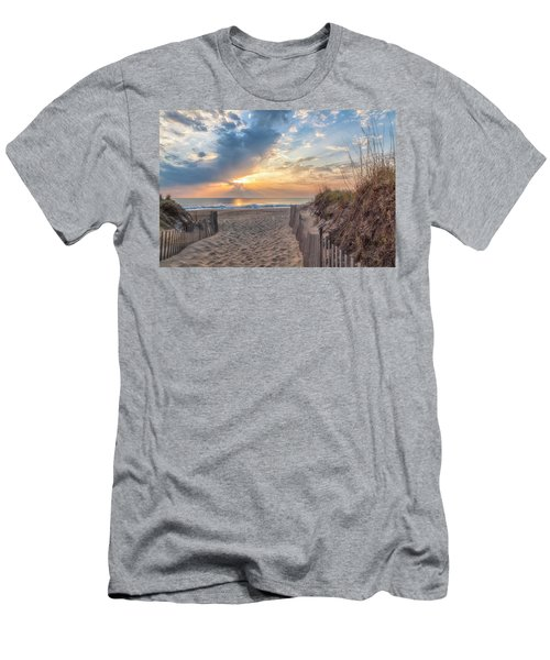 Morning Breaks Men's T-Shirt (Slim Fit) by David Cote
