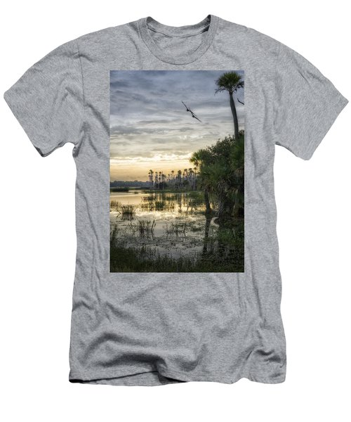 Morning Fly-by Men's T-Shirt (Athletic Fit)