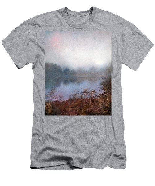 Men's T-Shirt (Athletic Fit) featuring the painting Morning Fog by Andrew King