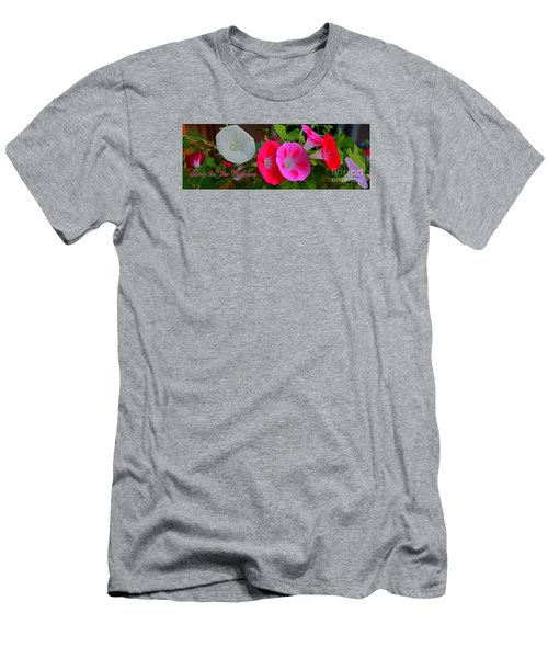 Morning Glory Banner Men's T-Shirt (Athletic Fit)
