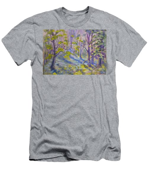 Morning Glory Men's T-Shirt (Slim Fit) by Genevieve Brown