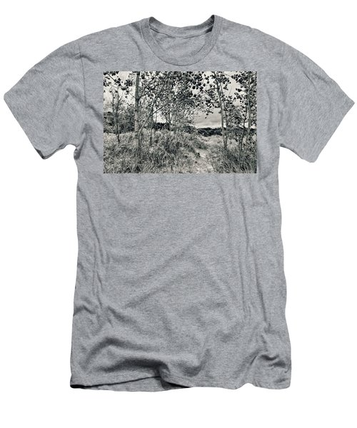 Men's T-Shirt (Athletic Fit) featuring the photograph Morning In The Dunes by Michelle Calkins