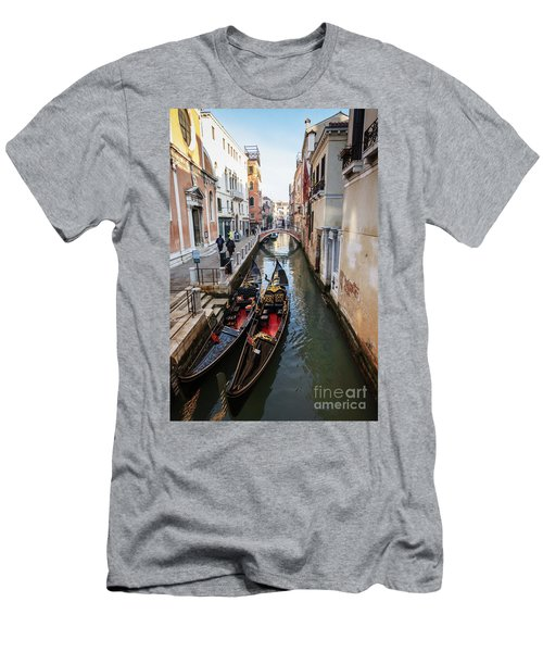 Morning In Venice In Winter Men's T-Shirt (Athletic Fit)