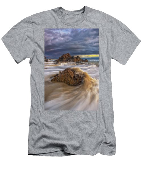 Morning Light At Marginal Way Men's T-Shirt (Athletic Fit)