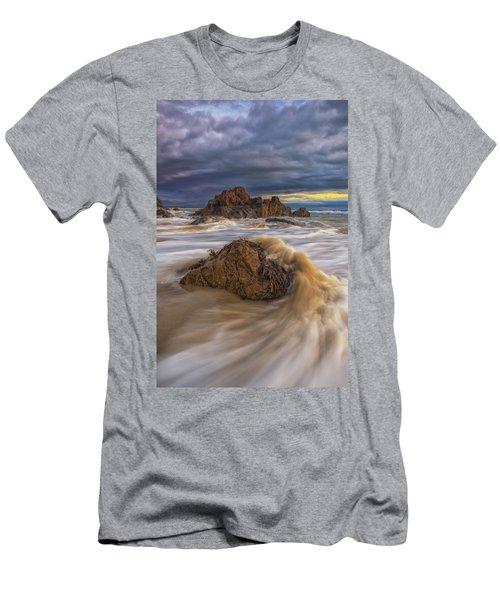 Morning Light At Marginal Way Men's T-Shirt (Athletic Fit)