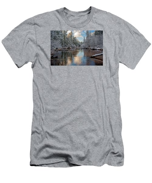 Morning Light On Grand Marais Creek Men's T-Shirt (Athletic Fit)