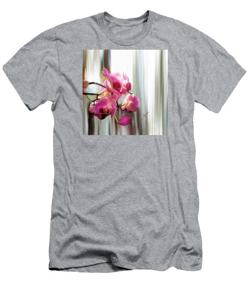 Morning Light Orchids Men's T-Shirt (Athletic Fit)