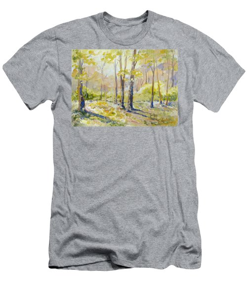 Morning Light - Spring Men's T-Shirt (Slim Fit) by Irek Szelag