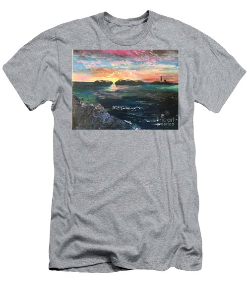 Morning Maine Men's T-Shirt (Athletic Fit)