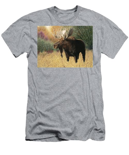 Men's T-Shirt (Athletic Fit) featuring the painting Morning Majesty by Tammy Taylor