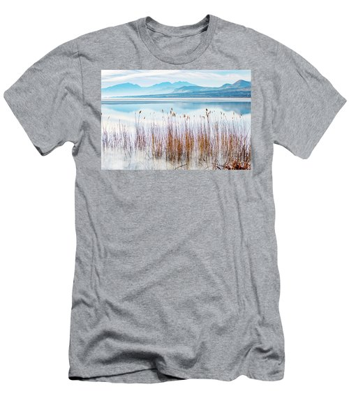 Morning Mist On The Lake Men's T-Shirt (Athletic Fit)