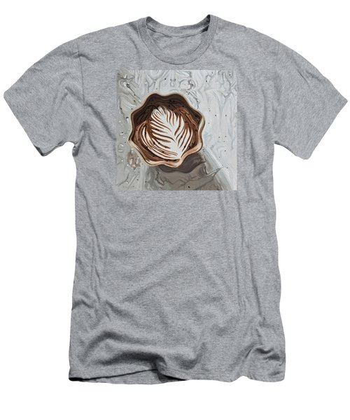 Morning Mocha Men's T-Shirt (Slim Fit) by Nathan Rhoads
