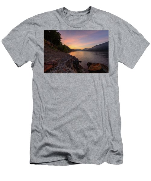 Morning On The Bay Men's T-Shirt (Athletic Fit)