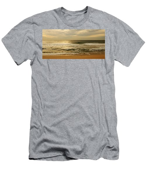 Morning On The Beach - Jersey Shore Men's T-Shirt (Athletic Fit)
