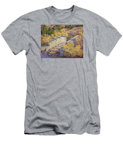 Morning Quail  Men's T-Shirt (Athletic Fit)