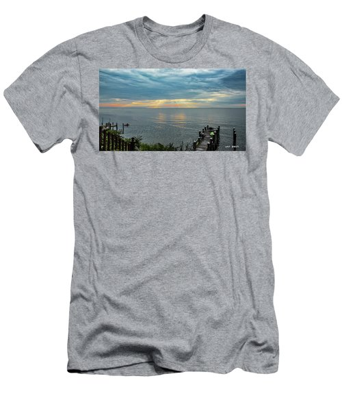Morning Rays Men's T-Shirt (Athletic Fit)