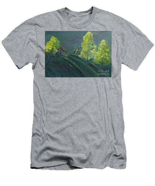 Morning Shadows Men's T-Shirt (Athletic Fit)