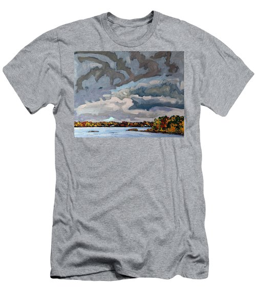 Morning Showers Men's T-Shirt (Athletic Fit)