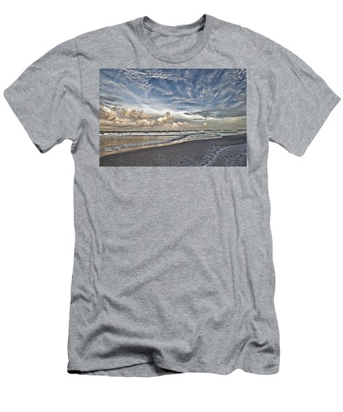Morning Sky At The Beach Men's T-Shirt (Athletic Fit)