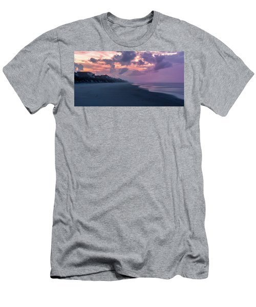Morning Stroll On The Beach Men's T-Shirt (Athletic Fit)