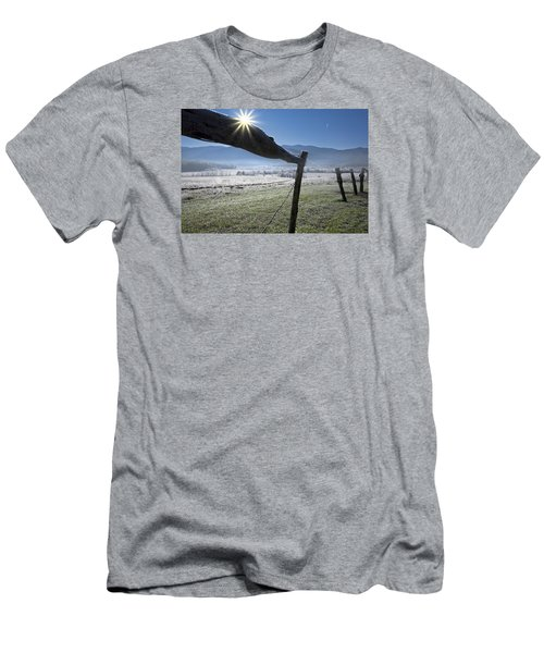 Men's T-Shirt (Athletic Fit) featuring the photograph Morning Sun by Ken Barrett