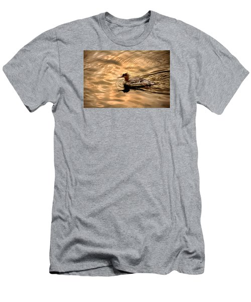 Morning Swim Men's T-Shirt (Athletic Fit)