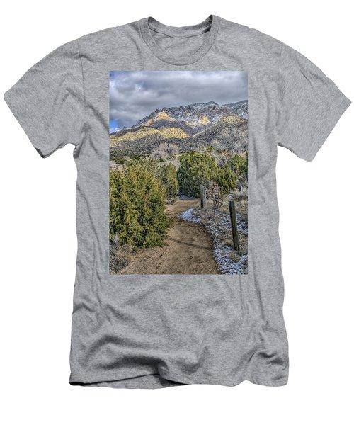 Morning Walk Men's T-Shirt (Slim Fit) by Alan Toepfer