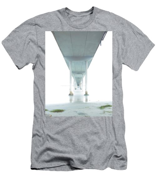 Mornings Underneath The Pier Men's T-Shirt (Athletic Fit)