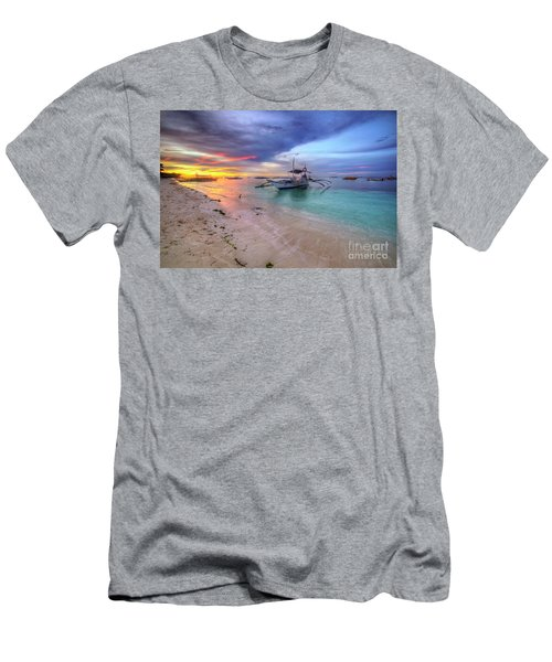 Men's T-Shirt (Slim Fit) featuring the photograph Morningtide 2.0 by Yhun Suarez