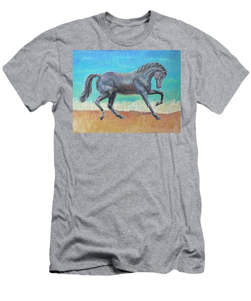 Mosaic Men's T-Shirt (Slim Fit) by Elizabeth Lock