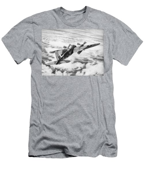 Mosquito Fighter Bomber Men's T-Shirt (Athletic Fit)