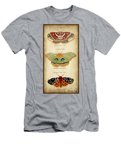 Moth Study Men's T-Shirt (Athletic Fit)