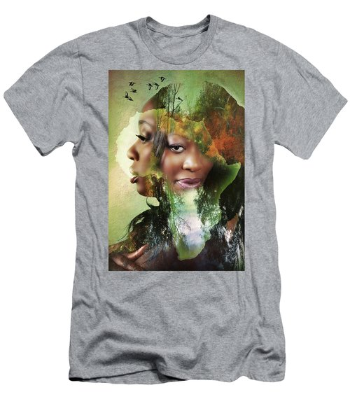 Mother Nature Men's T-Shirt (Athletic Fit)