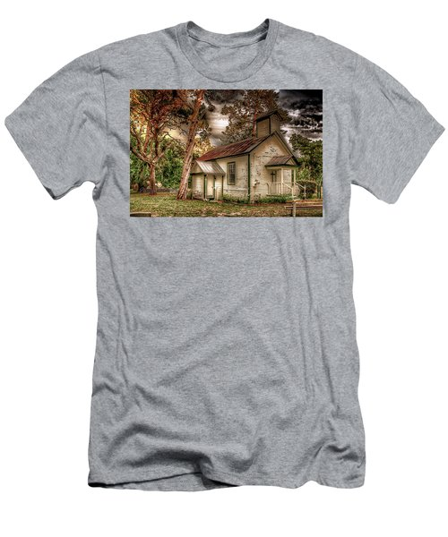 Moultrie Church At Dusk Men's T-Shirt (Athletic Fit)