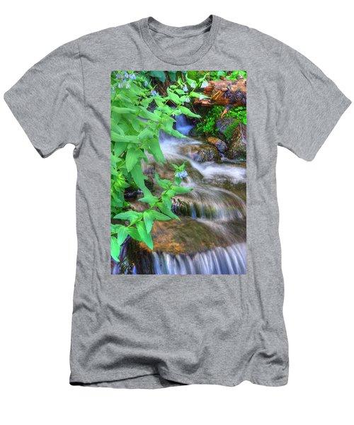 Mounain Bluebells Men's T-Shirt (Athletic Fit)