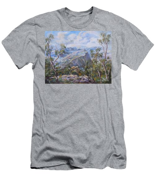 Mount Abrupt Grampians Victoria Men's T-Shirt (Athletic Fit)
