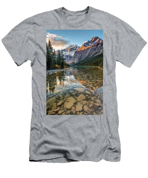 Mount Edith Cavell Sunrise Men's T-Shirt (Athletic Fit)