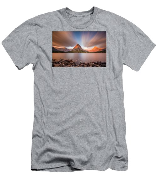 Mount Grinnell Sunrise Men's T-Shirt (Athletic Fit)