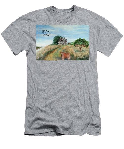 Mount Hope Plantation Men's T-Shirt (Slim Fit) by Lyric Lucas
