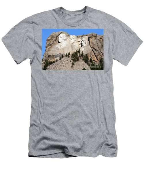 Mount Rushmore I Men's T-Shirt (Athletic Fit)