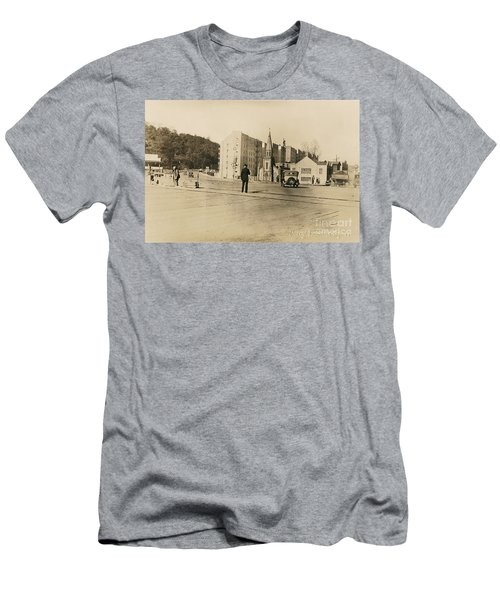 Men's T-Shirt (Athletic Fit) featuring the photograph Mount Washington Church  by Cole Thompson