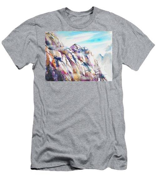 Mountain Awe #1 Men's T-Shirt (Athletic Fit)