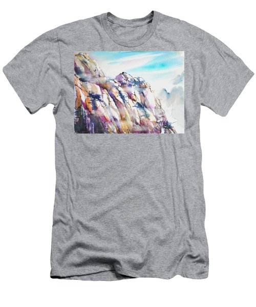 Mountain Awe #1 Men's T-Shirt (Athletic Fit)